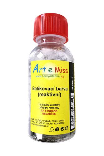 GBA BATIKA 14 BATIKOVACÍ BARVA ČERNÁ