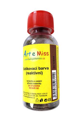 GBA BATIKA 24 BATIKOVACÍ BARVA HNĚDÁ