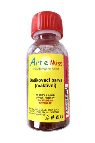GBA BATIKA 55 BATIKOVACÍ BARVA VÍNOVÁ