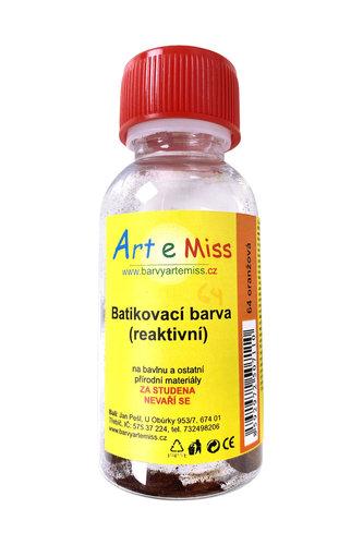 GBA BATIKA 64 BATIKOVACÍ BARVA ORANŽOVÁ
