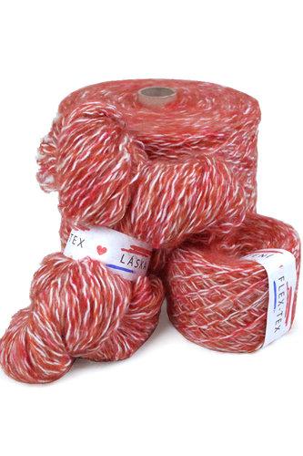 GRR 022 Pletací příze Tutti Frutti červeno-bílá 100g