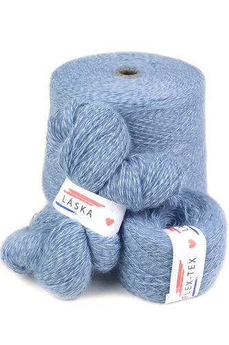 GRR 052 Pletací příze Pchmou modrošedá 100g