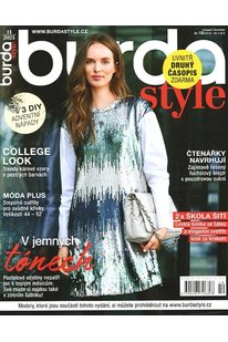 CBB 1121 Časopis Burda Style - listopad 2021