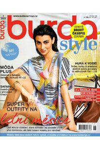 CBB 721 Časopis Burda Style - červenec 2021