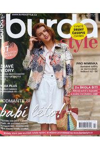 CBB 821 Časopis Burda Style - srpen 2021