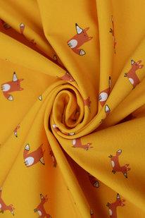 DKB 709 Úplet oranžový s liškami