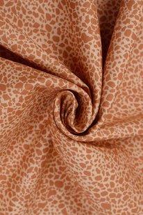 DKB 939 BAVLNĚNÉ PLÁTNO okrové- žirafí vzor