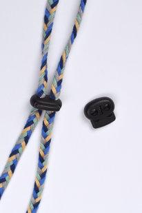 GFF 906 PLASTOVÁ BRZDIČKA ČERNÁ 18mm