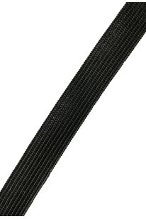 GGG 162 PLOCHÁ GUMA ČERNÁ š.1,6 cm 10M