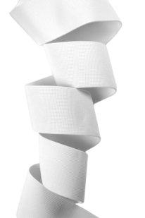 GGG 501 PLOCHÁ GUMA BÍLÁ 5 cm