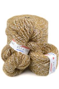 GRR 024 Pletací příze Tutti Frutti bílo-hnědá 100g