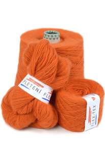 GRR 027 Pletací příze Lapponia oranžová 100g