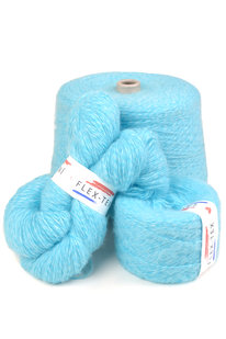 GRR 051 Pletací příze Pchmou modro-bílá 100g