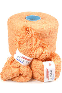 GRR 062 Pletací příze Panoramix oranžová 100g