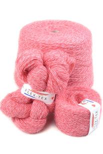 GRR 118 Pletací příze Cord Mouli 3/15 červeno-růžová 100g