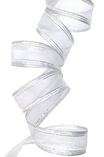 GSS d 06 STUHA DEKORAČNÍ stříbrná š 4 cm