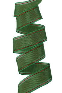 GSS d 32 STUHA DEKORAČNÍ zeleno-červená š 4 cm