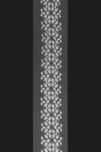GSS K 076 v VYŠÍVANÁ KRAJKA NA ŠIFONU