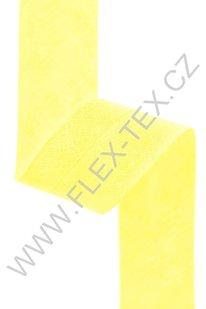 GSS z 097 BAVLNĚNÁ LEMOVKA 2,5cm žlutá