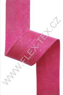 GSS z 102 BAVLNĚNÁ LEMOVKA 2,5cm tm.růžová