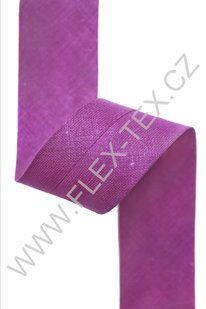 GSS z 103 BAVLNĚNÁ LEMOVKA 2,5cm fialová