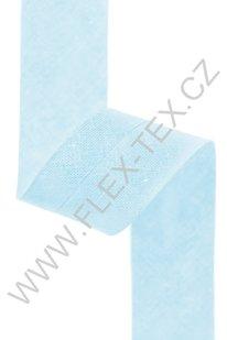 GSS z 106 BAVLNĚNÁ LEMOVKA 2,5cm sv. modrá