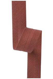 GSS z 125 BAVLNĚNÁ LEMOVKA HNĚDÁ 2,5 cm
