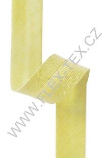 GSS z 53 BAVLNĚNÁ LEMOVKA 1,8cm žlutá