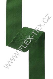 GSS z 66 BAVLNĚNÁ LEMOVKA 1,8cm zelená