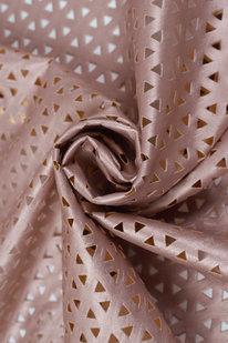 IDE 1236 Koženka s perforací růžová metalická