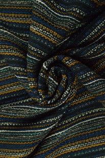 IDE 922 Dekorační látka černo-modrá