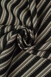 IDE 923 Dekorační látka černo-bílá